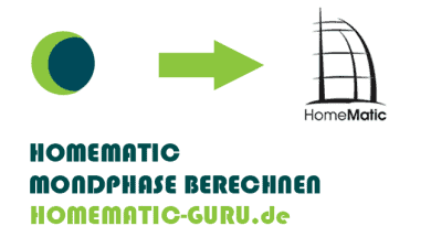 Homematic Mondphase