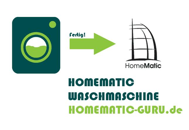 Homematic Waschmaschine