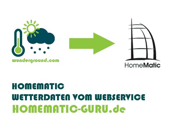Homematic Wetterdaten