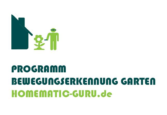 Homematic Programm Bewegungserkennung