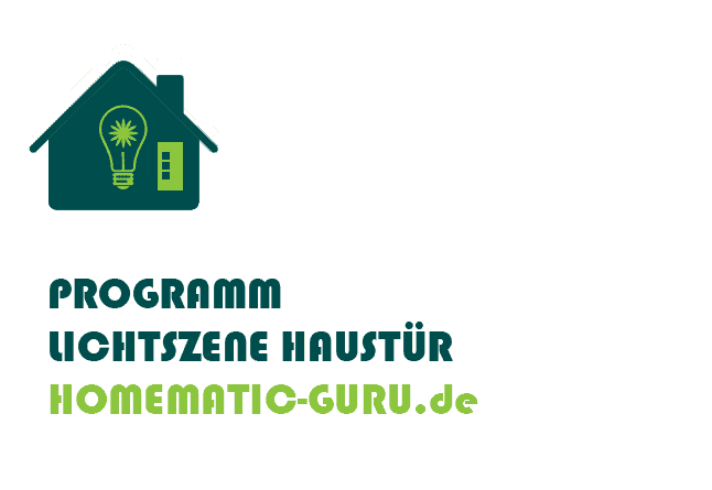 Homematic Lichtszene