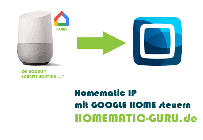 Homematic IP mit Google Home steuern