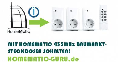 Homematic 433 MHz