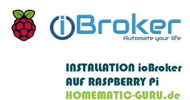 Homematic ioBroker Installation