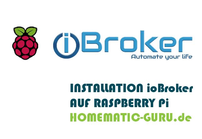 Homematic ioBroker Installation