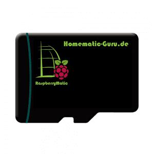 Homematic RaspberryMatic Betriebssystem microsd