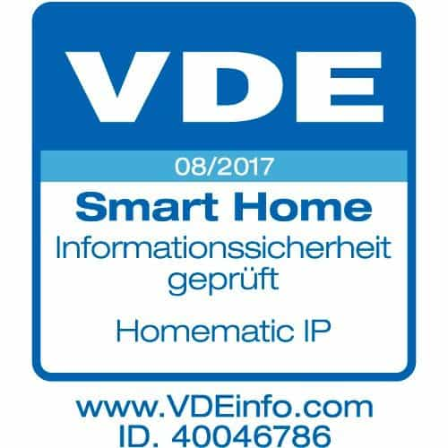 Homematic VDE Test