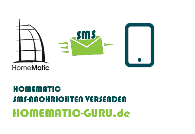 Homematic SMS versenden
