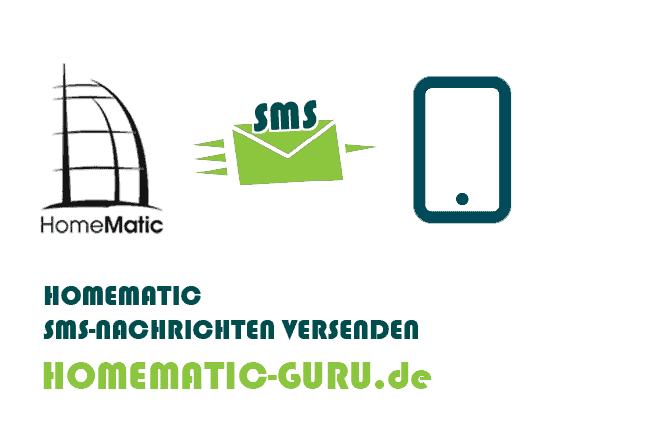 Homematic SMS versenden