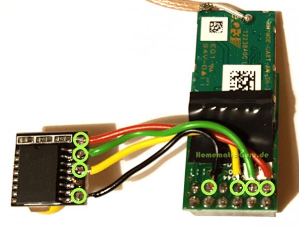 Schaltplan Homematic Funkmodul RTC Echtzeituhr RaspberryMatic