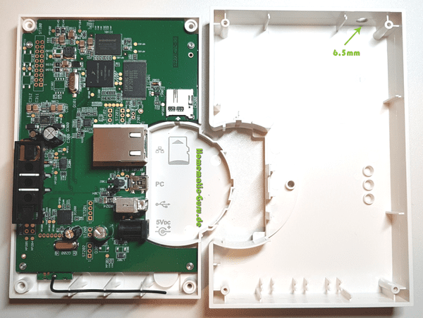Homematic CCU2 externe Antenne Anleitung