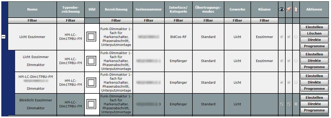 Homematic Blinklicht Geraeteeinstellung Licht-Dimmer 1von2
