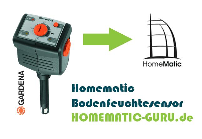 Homematic Bodenfeuchtesensor