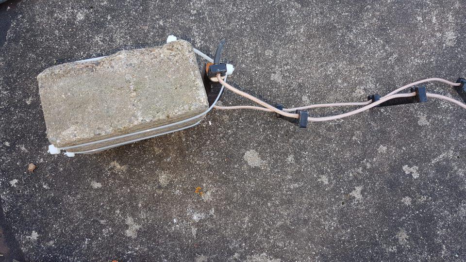 Homematic Zisterne Sensor Beschwerung