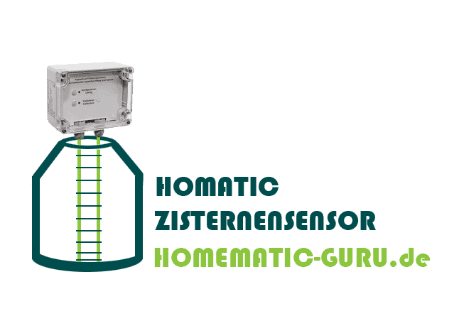 Tutorial Homematic Zisterne Sensor